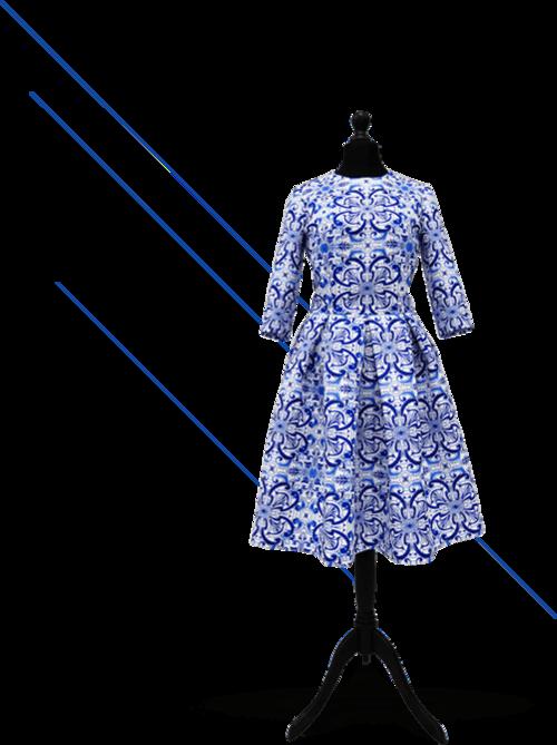 юбка и платье учебная швейная мастерская Litosh